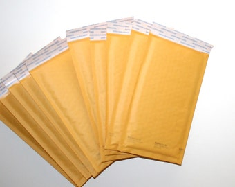 """Paper Bubble Pack Mailers 5x10"""" Shipping Packaging Supplies Shipping Supply Envelopes Bubble Pack Paper Envelopes by CzechBeaderyShop"""