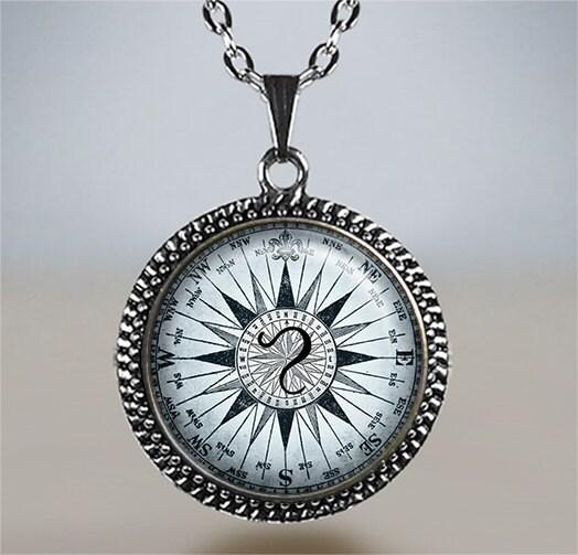 Napier Zodiac Medallion Pendant Necklace: Leo Compass Zodiac Pendant Leo Necklace Leo Jewelry Leo
