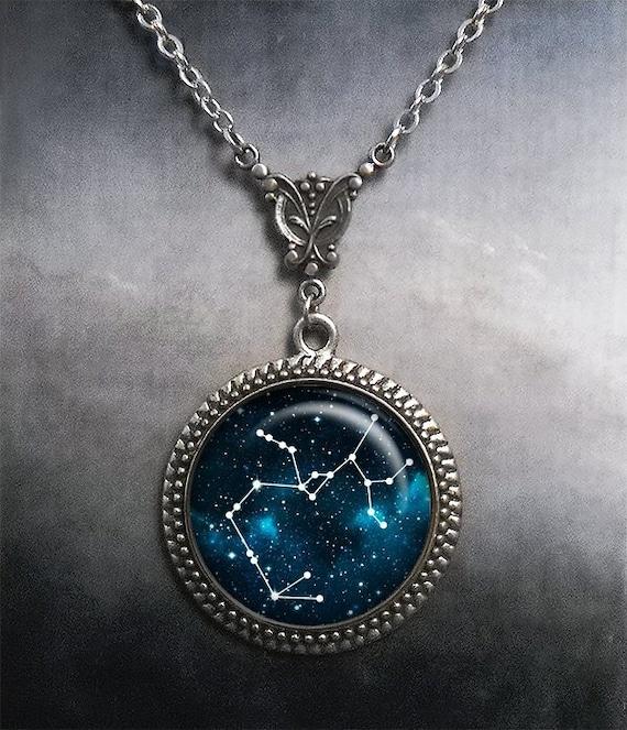 Sagittarius Constellation necklace, Sagittarius necklace Celestial jewelry  Zodiac jewelry star constellation astrology birthday gift