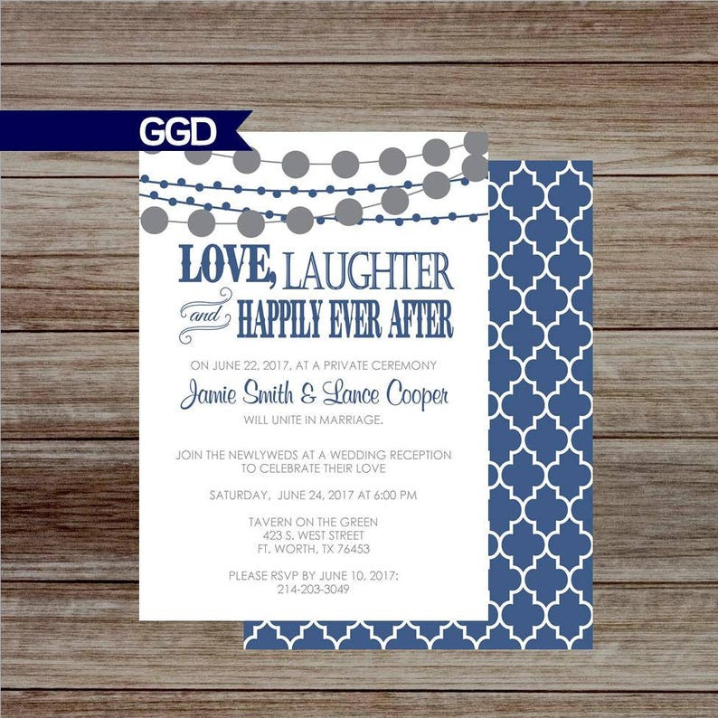 efa03d273be Love Laughter   Happily Ever After Wedding Reception
