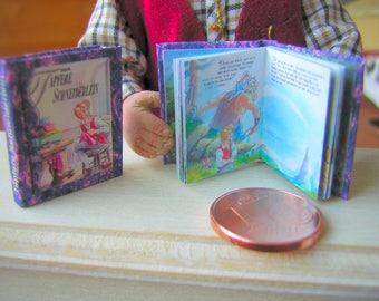 Das tapfere Schneiderlein miniature book 12th scale
