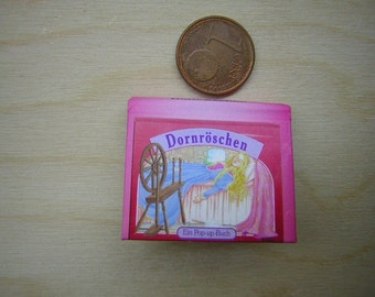 1/12 Miniature Fairy Pop-Up book Sleeping Beauty