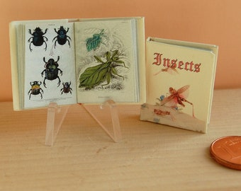 Insects Miniature book 1/12