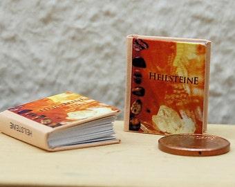 1/12 Miniature book, Heilsteine