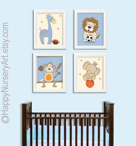 Nursery wall art Sports nursery nursery decor boy nursery | Etsy