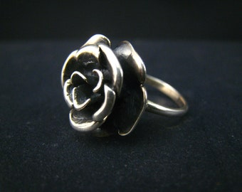 blossom ring,bali sterling silver