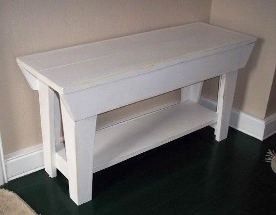 32 Inch Handmade Bench Furniture Seating Wood Benchshabby Etsy
