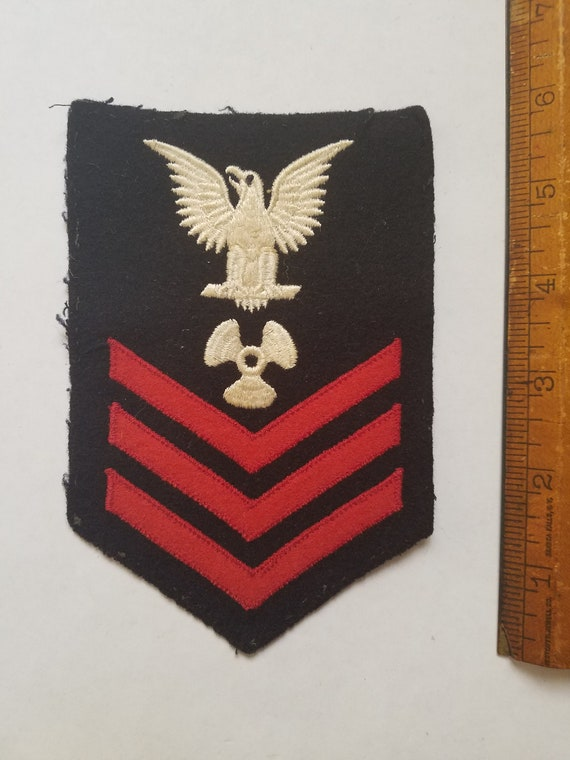 US Navy USN WWII Petty Officer 3rd Class Machinists Mate Wool Uniform VwvdbFIuy