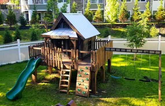Kids Clubhouse Playhouse