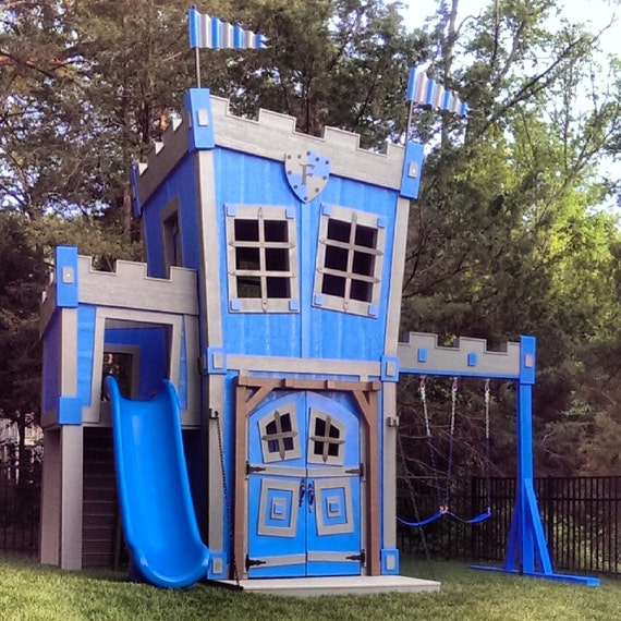 Kids Outdoor Castle Playhouse | AMAZING Outdoor Playhouses For Kids
