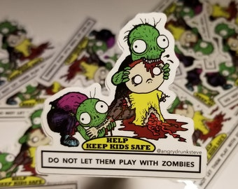 Safety Kid - Zombies