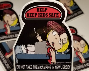 """Friday the 13th - 4""""  Horror Safety Kid"""