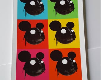 Creep Mouse print