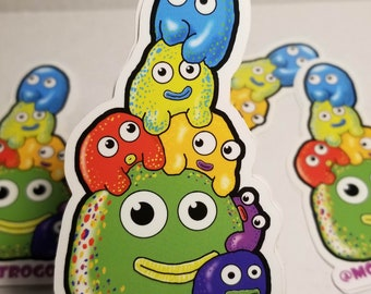 GUMMI !  Large Vinyl Sticker