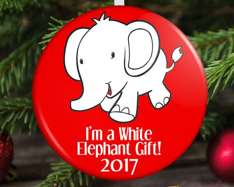 Christmas Ornament White Elephant Gift
