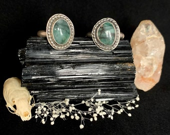 Emerald Sterling Silver Rings