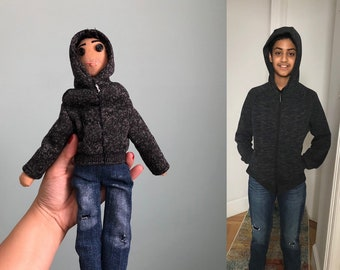 Look Alike; Custom Cloth Doll Caricature; Representation Matters; Boy Doll; Custom Order