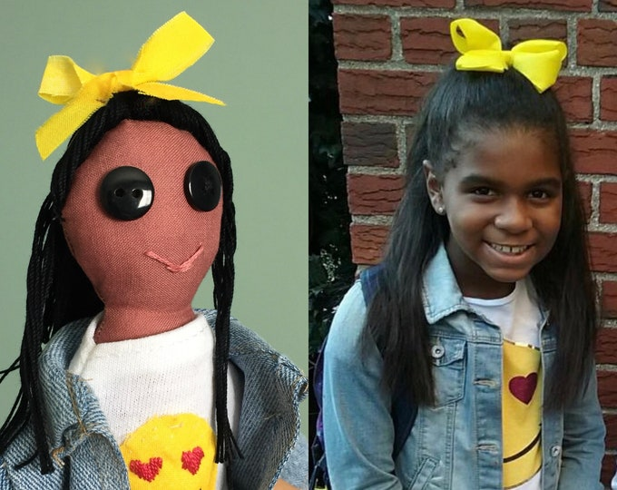 Look-Alike; Cloth Doll Caricature; Representation Matters; African American; Hispanic; Multicultural