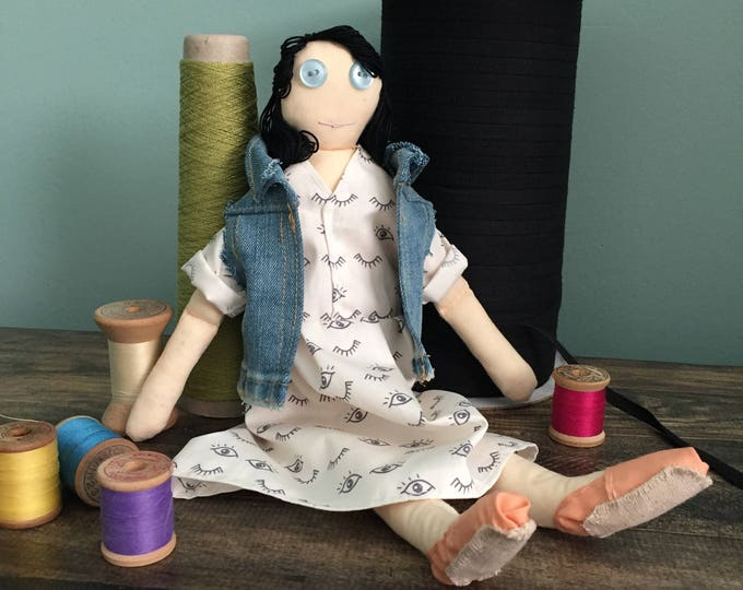 Tomboy Cloth Doll