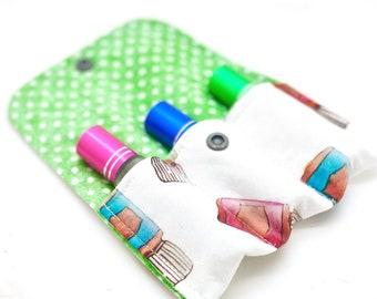 Essential Oil bag roller bottle case 3 slot  essential oil storage  essential oil gift