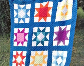 Star Stash Buster Blanket      Quilt