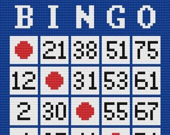 Bingo Win Afghan, C2C Crochet Pattern, Written Row Counts, C2C Graphs, Corner to Corner, Crochet Pattern, C2C Graph