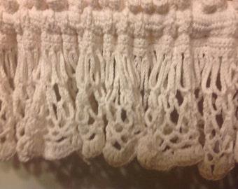 Looping Valance, Crochet PATTERN, Valance Pattern, Crochet, Valance Crochet, Valance Pattern