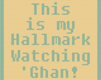 Hallmark Ghan Afghan, C2C Crochet Pattern, Written Row by Row, Color Counts, Instant Download, C2C Graph, C2C Pattern, Graphgan Pattern