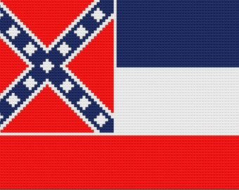 Mississippi Afghan, C2C Crochet Pattern, Written Row by Row, Color Counts, Instant Download, C2C Graph, C2C Pattern, Graphgan Pattern