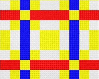 Michele 50x50 Quilt Afghan C2C Crochet Pattern, Written Row by Row Counts, C2C Graphs, Corner to Corner Crochet Pattern, Graphgan, C2C Graph