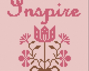 Inspire Afghan, Inspiration Series, C2C Crochet Pattern, Written Row by Row, Color Counts, Instant Download, C2C Graph, C2C Pattern