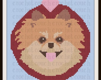 Pomeranian Afghan, C2C Crochet Pattern, Written Row Counts, C2C Graphs, Corner to Corner, Crochet Pattern, C2C Graph