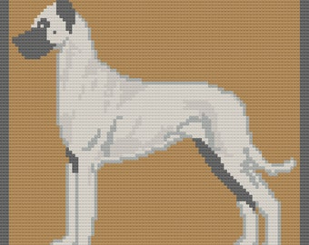 Great Dane Afghan, Body, C2C Crochet Pattern, Written Row by Row, Color Counts, Instant Download, C2C Graph, C2C Pattern, C2C Crochet