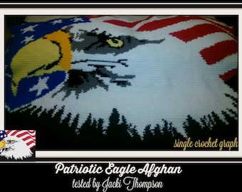 Patriotic Eagle SC Graph, TSS Graph, Word Chart, Patriotic Eagle Afghan