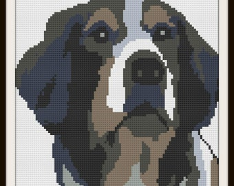 Australian Shepherd Afghan, C2C Crochet Pattern, Written Row Counts, C2C Graphs, Corner to Corner, Crochet Pattern, C2C Graph