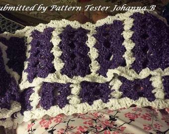 Shelden Infinity Scarf Crochet PATTERN, Infinity Scarf, Pattern Crochet, Scarf Pattern