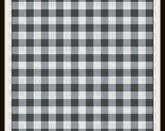 Gingham Queen size blanket, C2C Crochet Pattern, Written Row Counts, C2C Graphs, Corner to Corner, Crochet Pattern, C2C Graph