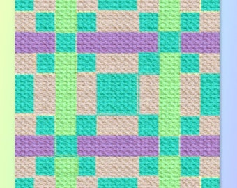 Angel Quilt Blanket, C2C Crochet Pattern, Written Row Counts, C2C Graphs, Corner to Corner, Crochet Pattern, C2C Graph