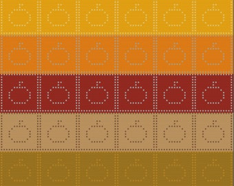 Pumpkin Squares Afghan, Bobble Stitch Crochet Pattern, Written Row by Row, Color Counts, Instant Download, Graphgan Pattern