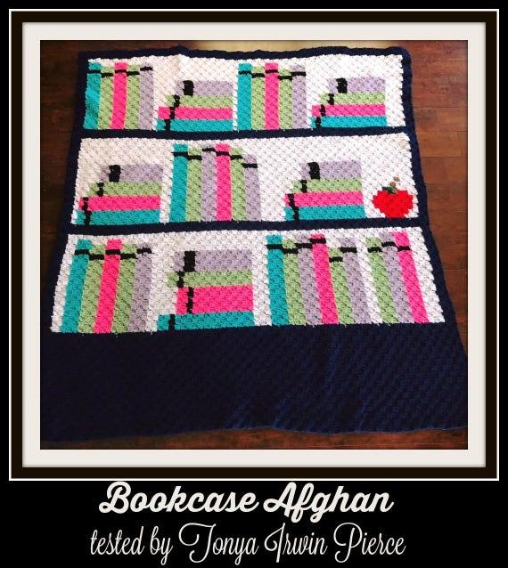 Bookcase Afghan 3, C2C Crochet Pattern, Written Row Counts, C2C Graphs,  Corner to Corner, Crochet Pattern, C2C Graph