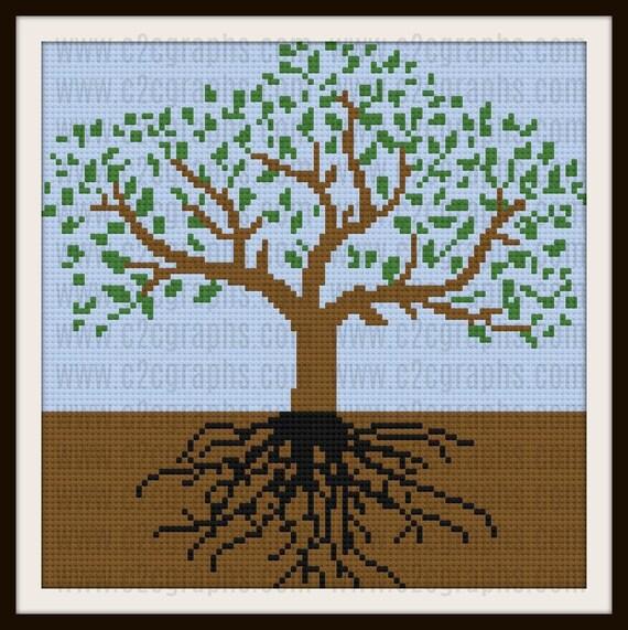 Tree of Life Afghan, C2C Crochet Pattern, Written Row Counts, C2C Graphs,  Corner to Corner, Crochet Pattern, C2C Graph