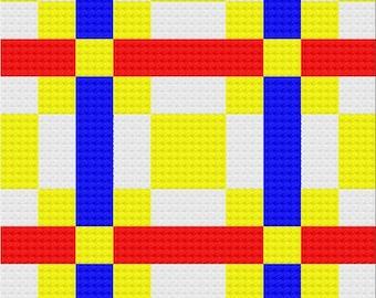 Angel Quilt Lapghan, C2C Crochet Pattern, Written Row by Row, Color Counts, Instant Download, C2C Graph, C2C Pattern, Graphgan Pattern