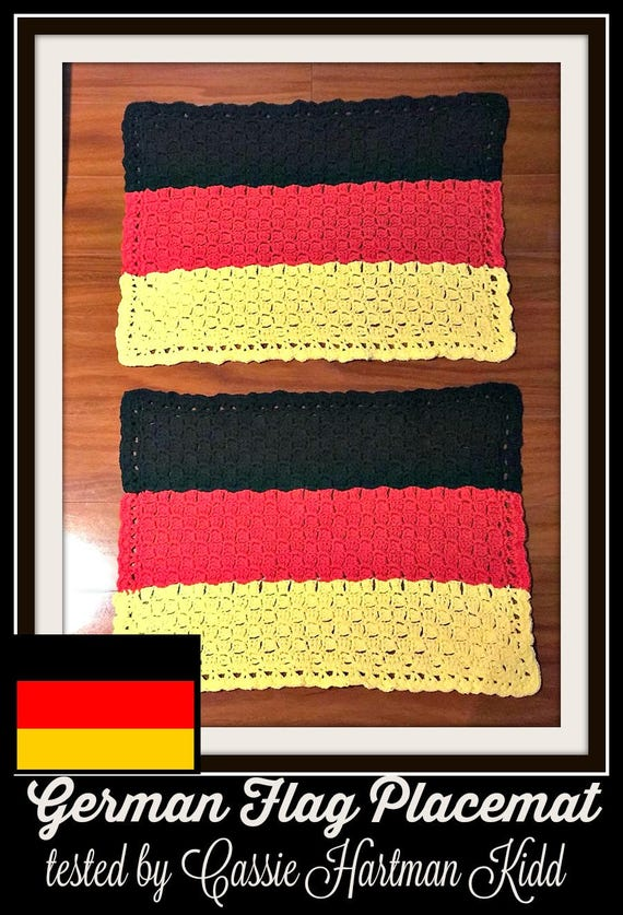 c2c graph germany flag placemat c2c graph written word etsy