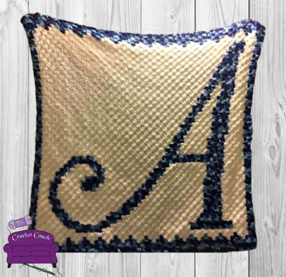 Letter A Kids Afghan, C2C Crochet Pattern, Written Row by Row, Color  Counts, Instant Download, C2C Graph, C2C Pattern, Graphgan