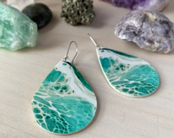 LANA lightweight dangle statement earrings