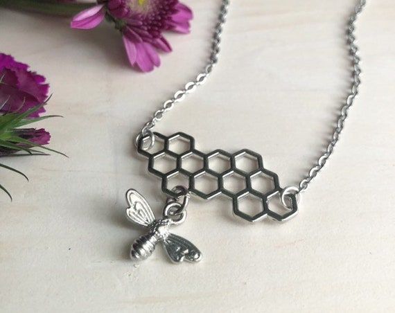 HONEY BAE stainless steel necklace