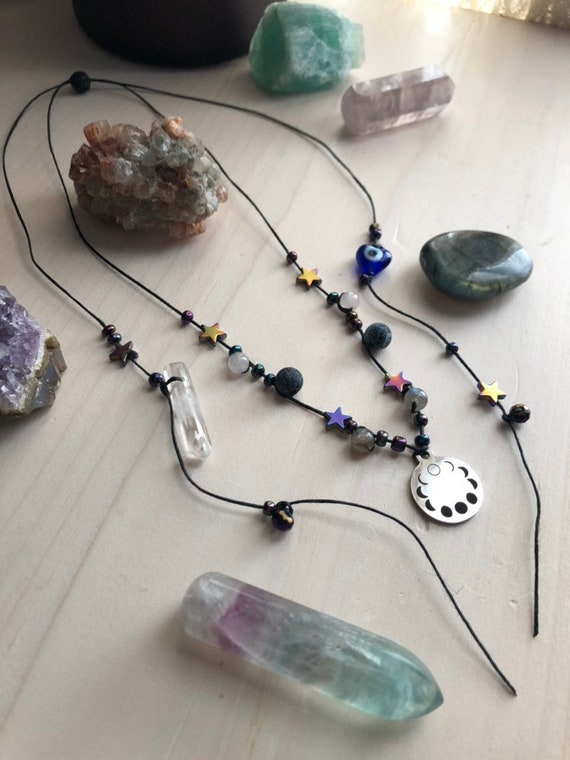 PHASES transformation necklace
