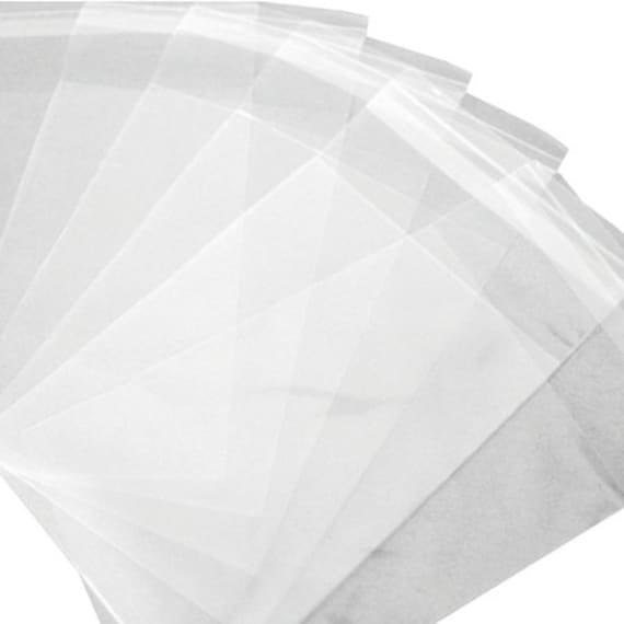 "3x5"" Resealable Polypropylene Bags // 1.5 Mil // Package of 100 bags // Jewelry making and craft supplies"