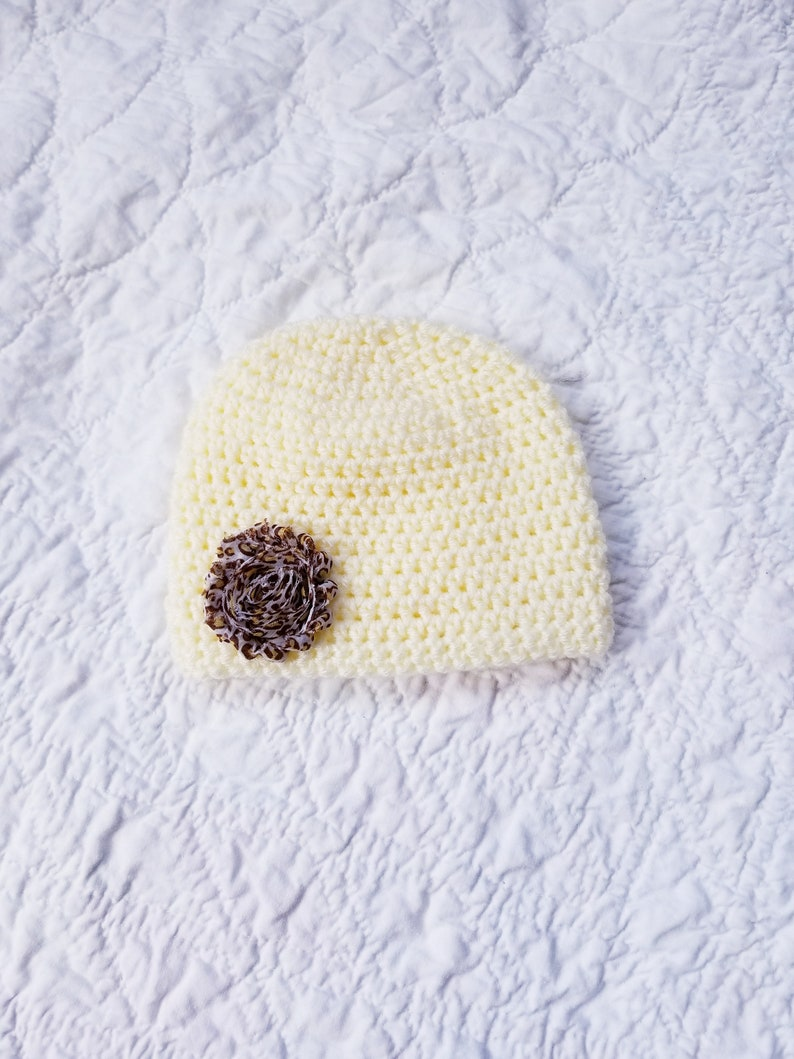 83b51bcffa7 6 to 12 Month Baby Hat Crochet Infant Hat Crochet Hat