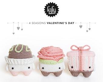 LUPO the lamb / sheep • lalylala crochet pattern / amigurumi ... | 270x340